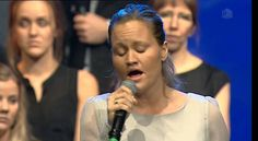 To the end now time is hast'ning Lyrics: Sigurd Bratlie Melody: Asa Hull Performed by Nancy Helgesen & Brunstad Concert Choir and Orchestra