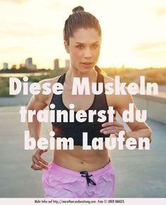 Welche Muskeln trainierst du beim Laufen und Joggen? http://marathon-vorbereitung.com/muskeln/