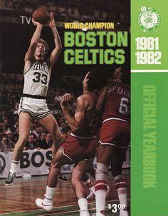 1981-82 Boston Celtics Yearbook - Larry Bird