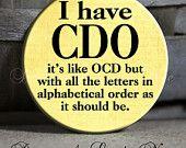 Me? OCD?