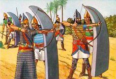 Assyrian heavy archer team