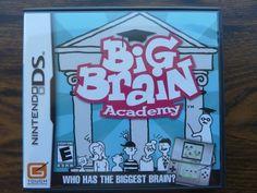 Big Brain Academy Nintendo DS 2006 Complete Nds Video Game with Manual & Case  http://r.ebay.com/cZJDos @eBay #videogames #nds #nintendods