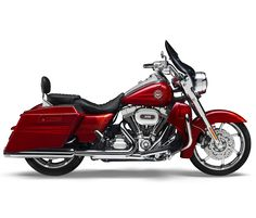 Road King  is the ultimate cruiser motorcycle. As part of Project Rushmore, it has been redesigned for 2014 for more comfort, sea power, better braking and handling and more classic style.      The detachable short custom wind deflector cuts the