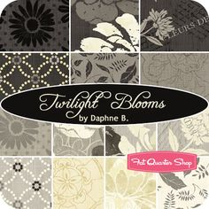 Twilight Blooms Fat Quarter Bundle Daphne B. for Wilmington Prints  Twilight Blooms Fat Quarter Bundle includes 14 fat quarters.  Price will be $39.99.   Expected shipment date of January 2014.