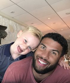 """DeLana Harvick: """"Yo, little man says he accepts legos, cars, bubble gum, basically anything as payment for the good day. Darrell Wallace Jr, Amazing Women, Beautiful Men, Richard Petty, Kevin Harvick, Nascar Sprint Cup, Daytona 500, Little Man, Race Cars"""