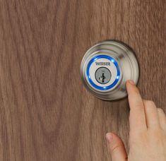Digital Smartphone Locks - The Weiser Lock System by Kevo Eliminates the Need for Keys (GALLERY)