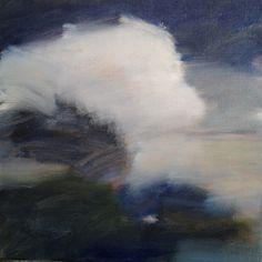 'Rush', oil on canvas, 30x30cm framed.  www.siobhanleonard.com