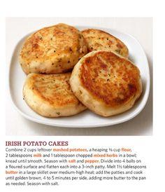 Irish Potato Cakes #foodnetwork