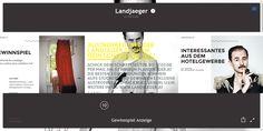 http://mag.landjaeger.at  menu burger qui s'affiche en plein ecran avec des vignettes à la place des titres des rubriques