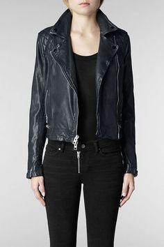 All Saints Conroy Leather Biker Jacket