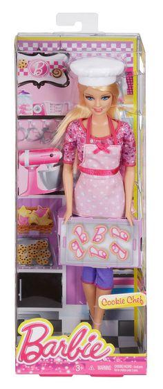 barbie careers cookie chef doll