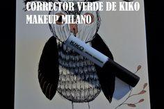 3. Corrector verde de KIKO Makeup Milano: Para tapar rojeces e imperfecciones de la cara aplico un poco de corrector verde encima y lo difumino a toquecitos para que se funda bien en la piel y desaparezca el tono rojizo