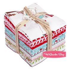 Little Red Riding Hood Fat Quarter Bundle Tasha Noel for Riley Blake Designs