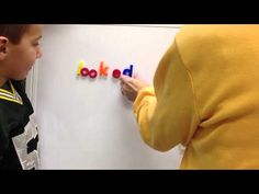 ▶ Breaking Words (Word Endings) Component of Reading Recovery - YouTube