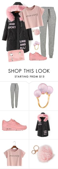 """Well Acquainted"" by chelsofly on Polyvore featuring Icebreaker, Mimata, NIKE, Alexia Crawford and Shrimps"