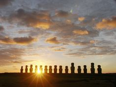 Easter Island, Chile. EVERYTHING about this island intrigues, astonishes & fascinates me. My soul longs to visit one day, one day, one day.