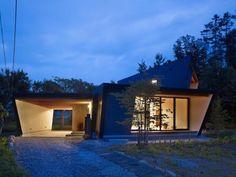 Yatsugatake Villa in Hokuto-City, Japan by MDS Architects