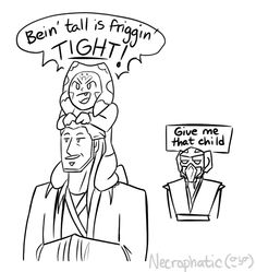 Taco Taungsday — How bad of an influence is Qui-gon on Ahsoka? Star Wars Comics, Star Wars Humor, Yoda Images, Star Wars Pictures, Ahsoka Tano, Star Wars Fan Art, Star War 3, The Force Is Strong, Star Wars Clone Wars