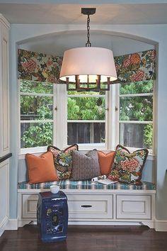 Wykusz, okno wykuszowe - BAY WINDOW - amerykańskie wnętrza. Ep.4