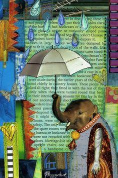 elephant rain by phizzychick