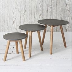 The Hudson Living Bergen Nest in Grey will give a stunning contemporary finish to any living space. The nests are fantastic for rooms with less space as they can be neatly stored but also provide plenty of table space for drinks when you have guests.
