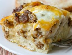 All That Spam: BISCUIT EGG CASSEROLE