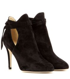 Jimmy Choo - Marina 90 suede ankle boots