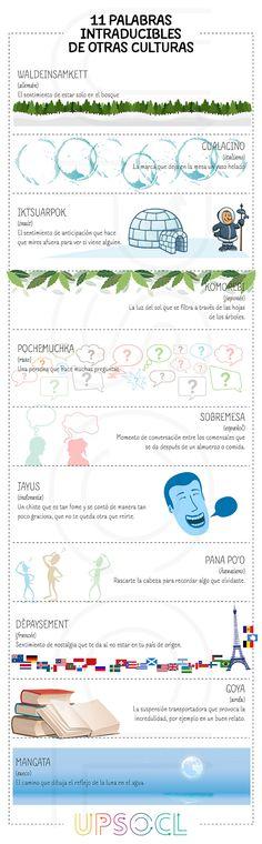 """Esta infografía nos muestra como algunas cosas realmente se """"pierden"""" en la traducción."""