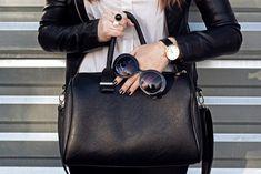 Top 23 Most-Treasured BLACK Designer Leather Tote Bags (Women)