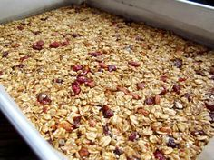 Homemade Granola Bars (Health or Energy Bars)