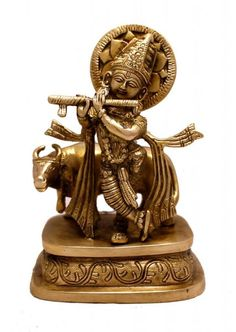 An Exquisite Detailed Indian Religious God Krishna Handmade Brass Idol Sculpture Statue Brass Sculpture Of Indian God krishna. Top Quality Goods & Services at lowest prices. Kali Statue, Saraswati Statue, Lord Shiva Statue, Krishna Statue, Fantasy Football Rings, Fantasy Football Funny, Brass Statues, Religious Gifts, Indian Gods