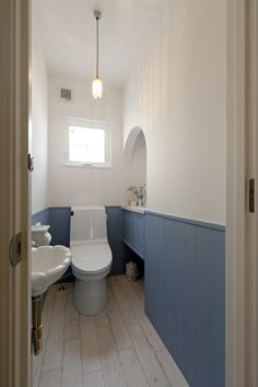 Diy Home Interior, Room Interior, Interior Decorating, Interior Design, Toilet Tiles, Toilet Room, Small Toilet, Downstairs Toilet, Cafe Style