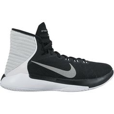 online store 11fc7 96ea6 Nike Women s Prime Hype DF 2016 Basketball Shoes (Black Reflective Silver  White
