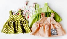 Free Easy Summer Baby Dress Sewing Pattern