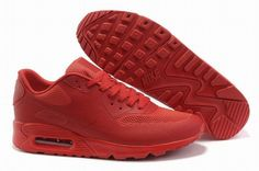 Women's Nike Air Max HYP PRM Training Shoes All Red new collections Australia sale
