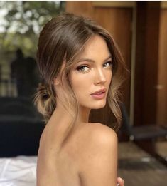 # Coiffure # Demoiselle d& Coiffure # Cheveux de mariage # Cheveux # FauneBun - # Cheveux de demoiselle d& , Loose Hairstyles, Trendy Hairstyles, Gorgeous Hairstyles, Braid Hairstyles, Bridesmaid Hair, Prom Hair, Make Up Gesicht, Peinados Pin Up, Wedding Guest Hairstyles