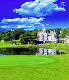 Imagine swinging your club within site of Ireland's Adare Manor.