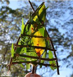 Christmas Tree Weave Craft