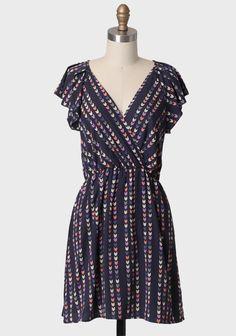 Realized Dreams Printed Dress   Modern Vintage New Arrivals