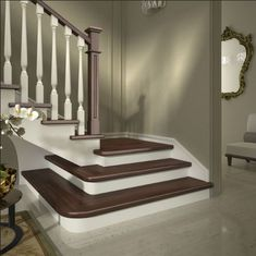 Railings, Stairs and Interiors on Pinterest
