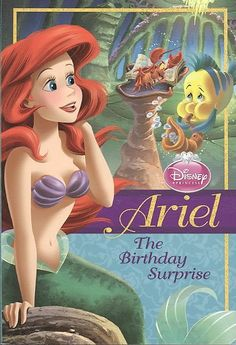 Ariel: The Birthday Surprise (Disney Princess Early Chapter Books) [Kindle Edition], (the three ghost brothers, disney press, mice and owls, princess) Princess Party Games, Disney Princess Party, Princesa Ariel Disney, Princesas Disney, Ariel Mermaid, Ariel The Little Mermaid, Mermaid Book, Disney Princess Books, Disney Princesses