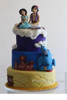 jasmine aladdin cake