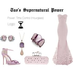 EXO Tao Supernatural Power Inspired Outfit by nanrelladu on Polyvore featuring polyvore fashion style Nina Ricci Jimmy Choo Alexander McQueen Style & Co. Valerie Nahmani Designs Mawi
