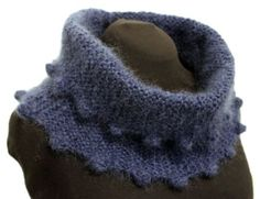 This cowl uses just two balls of Classic Elite La Gran Mohair. My cowl is done in True Navy shade 61510 with 5mm needles. I chose La Gran Mohair for its density and fluffiness. Enjoy! Materials 164…
