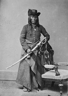 Long knife,Arikara.1877