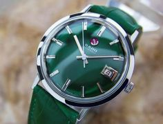 Rare Swiss Made Rado 31jewel Automatic Vintage Ss Watch For Men C1960 Gp5