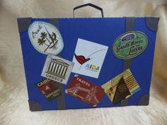Reisekofferidee (aussen) Greece Travel, Louvre, Beach, Suitcase, The Beach, Seaside, Greece Destinations