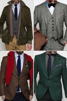 "I love when men whip out an outfit like this every once in a while. ""Gentlemen wear layers"""