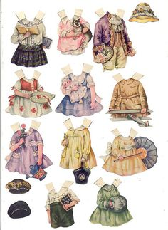 POLLY PRATT PAPER DOLLS - 6 by BARBARAJEAN, via Flickr