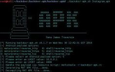 backdoor-apk is a shell script that simplifies the process of adding a backdoor to any Android APK file. Computer Internet, Computer Technology, Computer Science, Android Security, Computer Security, Linux, Life Hacks For School, School Life, Computer Forensics